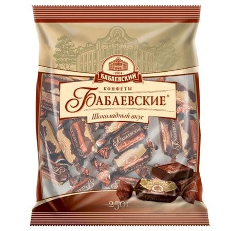 Конфеты шоколадные Бабаевские Шоколадный вкус, 250 гр.