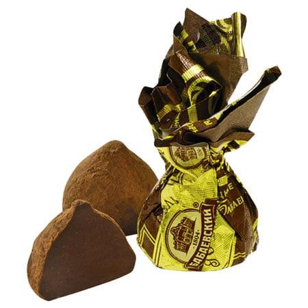 Конфеты шоколадные Бабаевские Трюфель горький, 1 кг.