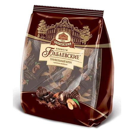 Конфеты шоколадные Бабаевские Трюфельный крем, 250 гр.
