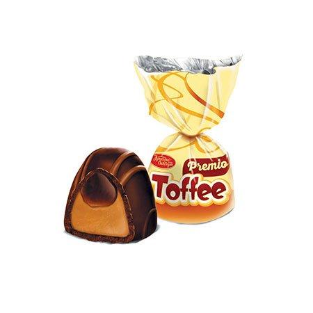 Конфеты шоколадные Toffee Premio с начинкой, 1кг.