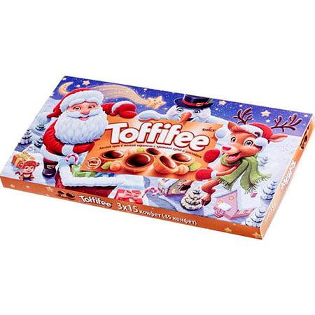 Конфеты Тофифи (Toffifee) Санта и друзья 375г.
