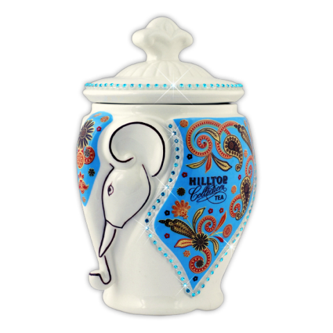 Чай Хилтоп Керамическая чайница + Чай Молочный оолонг