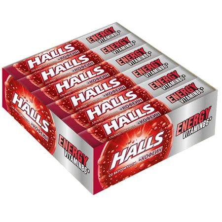 Леденцы Холлс со вкусом Energy Кола