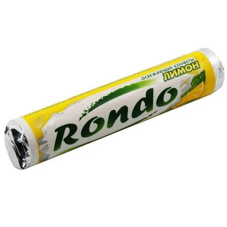 Освежающие конфеты Рондо Лимон