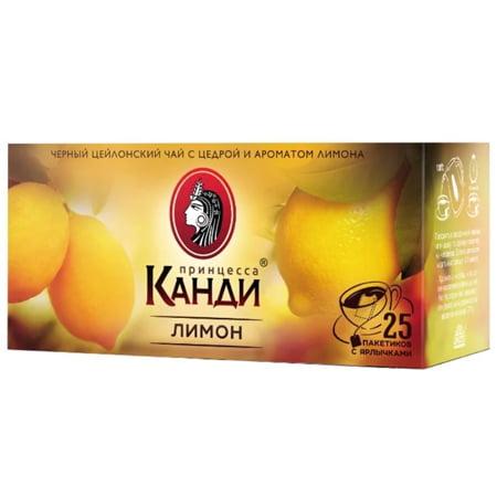Чай Принцесса Канди лимон 25 пак