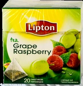 Чай Липтон Малина Виноград
