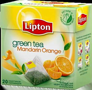 Чай Липтон Мандарин зелёный