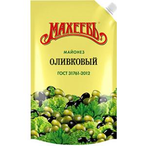 """Майонез Махеевъ """"Оливковый"""" 190 гр."""