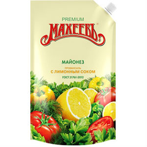 "Майонез Махеевъ ""Провансаль с лимонным соком"" 190 гр."