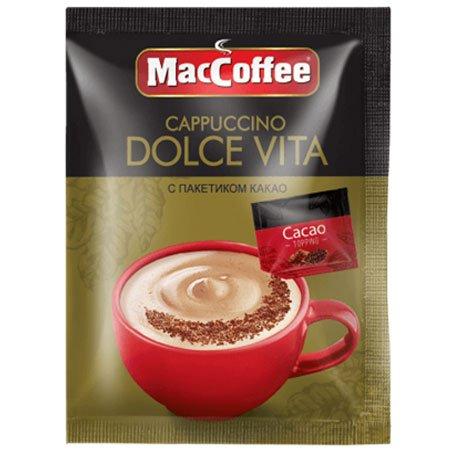 Кофе МакКофе Капучино Dolce Vita с какао 20 гр.