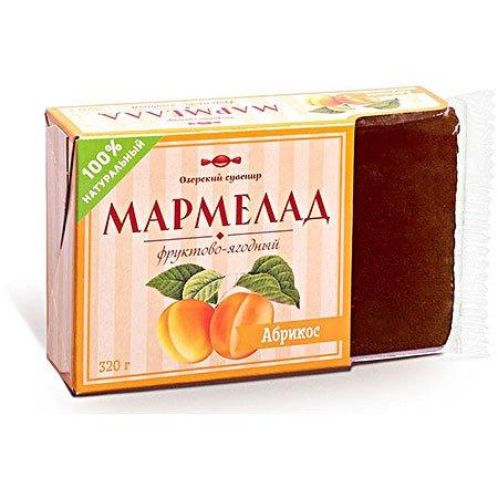 Мармелад желейный фруктовый Абрикос 320 г.