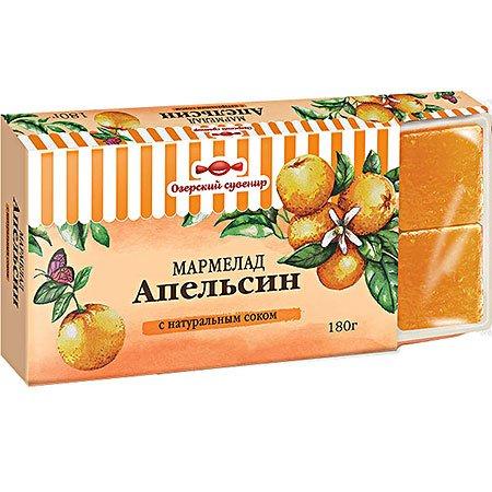 Мармелад желейный фруктовый Апельсин 180г