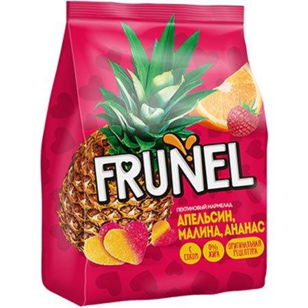 Жевательный мармелад Frunel апельсин/малина/ананас, 250 г