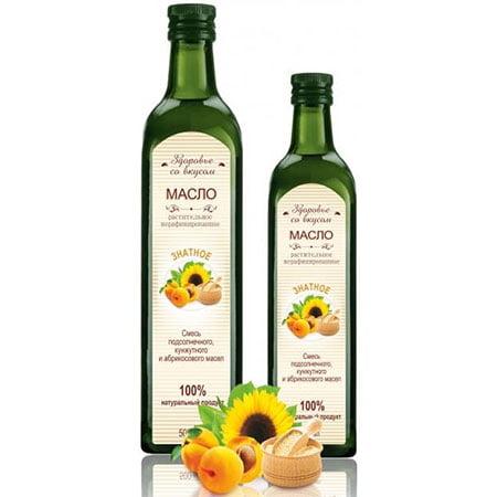"""Масло растительное салатное """"Знатное"""", 250 мл с/б"""