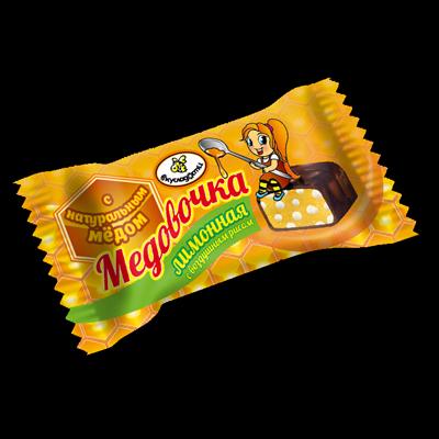 """Конфеты Вкусладости """"Медовочка лимонная с воздушным рисом"""", 1кг"""