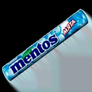 Жевательное драже Mентос Мята