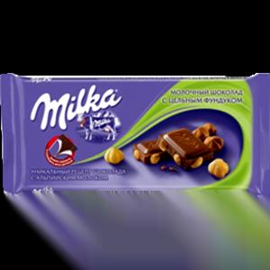 Шоколад Милка Цельный фундук