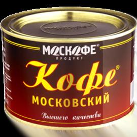 Кофе Московский 100 грамм железная банка