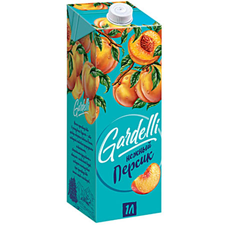 Нектар «Gardelli» Нежный персик 1л.