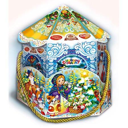 Новогодний подарок Веселая карусель 800 гр