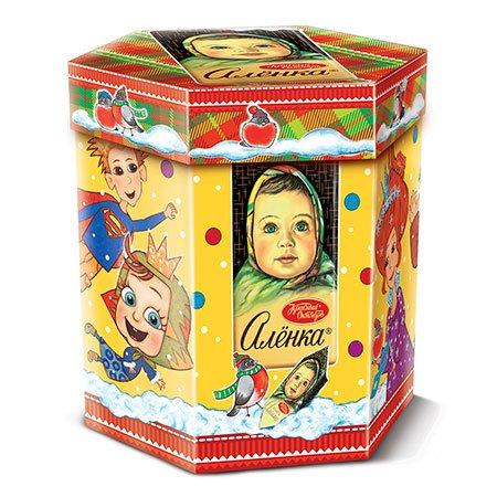 Новогодний подарок Аленка Драгоценные моменты 400 гр