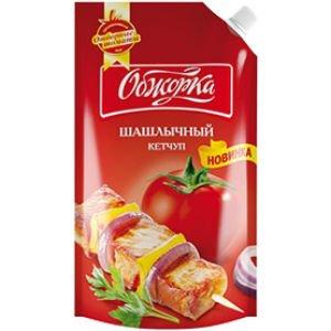 """Кетчуп Обжорка """"Шашлычный"""" 260 гр."""