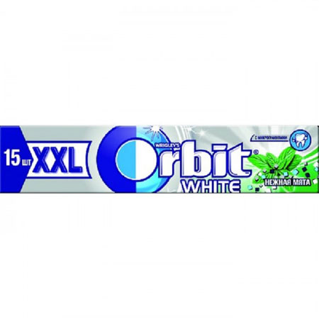 Жевательная резинка Орбит XXL White Мята, 20.4гр