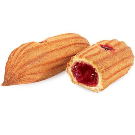 Печенье «Мини-эклеры с брусничной начинкой» 1кг.
