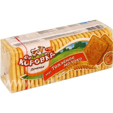 Печенье Рот Фронт Коровка Топленное молоко 375гр