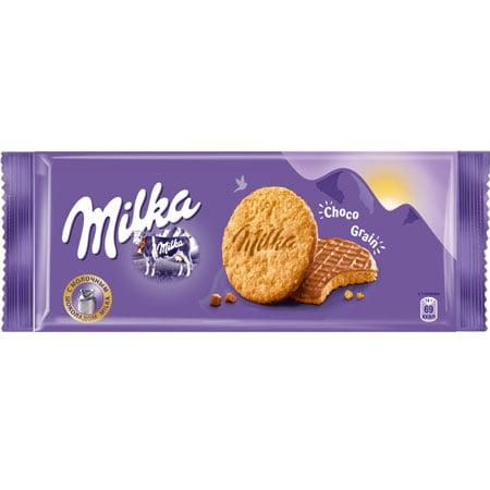 Печенье Милка с овсяными хлопьями, Чехия, 168г.
