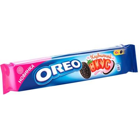 Печенье Орео Какао со вкусом клубники, 95 гр