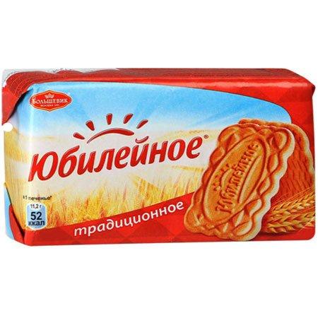 Печенье Юбилейное витаминизированное традиционное, 313 г.