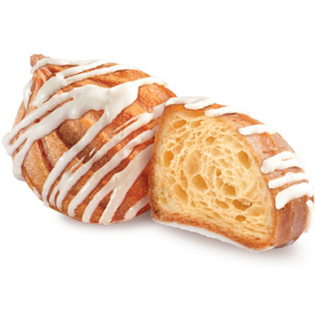 Печенье «Заварные пышечки» в белой глазури 1кг.
