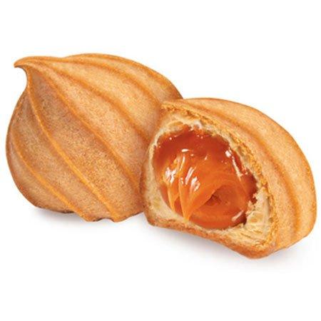 Печенье «Заварные пышечки» с варёной сгущёнкой 1кг.