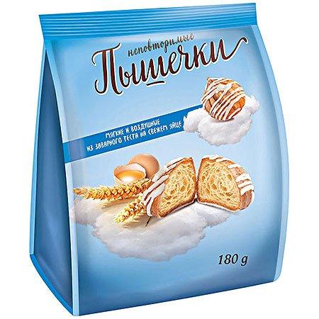 Печенье из заварного теста «Заварики» Заварные пышечки 180 гр.