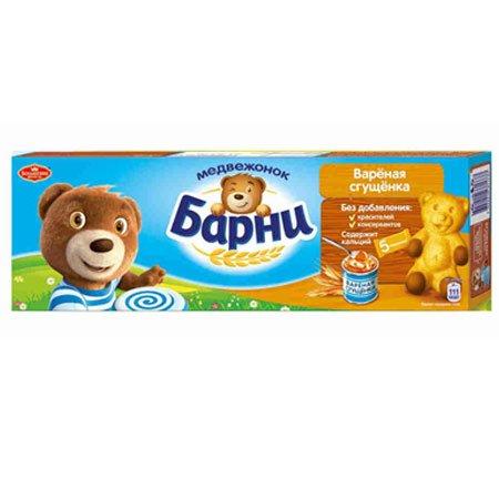Пирожное Медвежонок Барни бисквитное сгущёнка, 150г