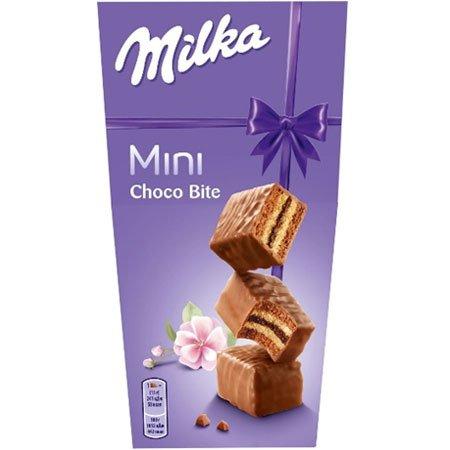 Пирожное Милка Choco Bite бисквитное, Чехия, 117г.