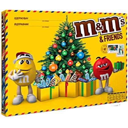 Подарочный набор М&Мs (Эм-энд-Эмс) Friends Большая Бандероль 685гр.