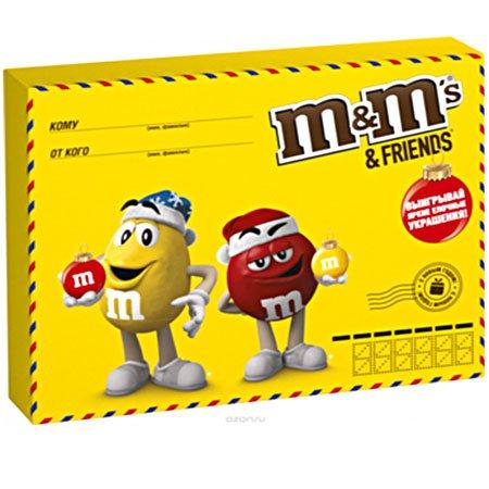Подарочный набор М&Мs (Эм-энд-Эмс) Friends Малая Бандероль 256гр.