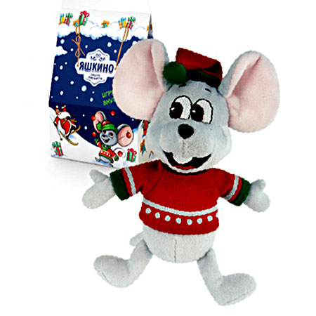 Новогодний подарок «Мышонок Яша», 370 г