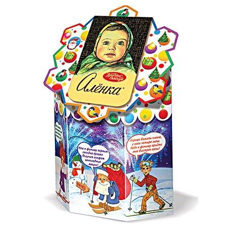 Новогодний подарок Аленка Веселая девчонка 400 гр