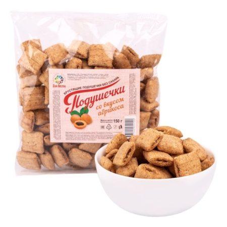 Диа-Веста Подушечки со вкусом абрикоса без сахара 150гр/20шт