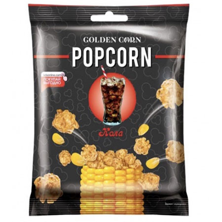 Попкорн «Golden Corn» Кола 50г.