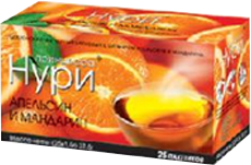 Чай Принцесса Нури Апельсин Лимон
