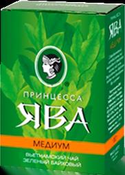 Чай Принцесса Ява Зелёный Медиум 100гр.