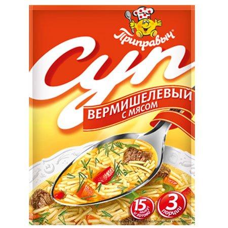 Приправыч Суп Гороховый с мясом 60г.
