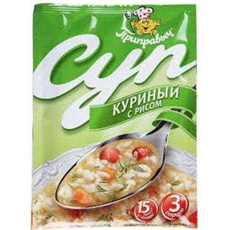 Приправыч Суп Куриный с рисом 60г.