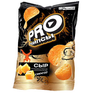 «PRO-чипсы» со вкусом сыра 60гр.