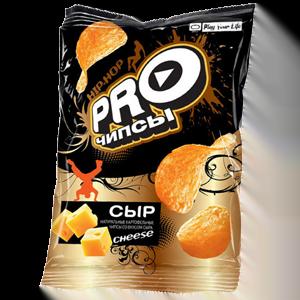«PRO-чипсы» со вкусом сыра 150гр.