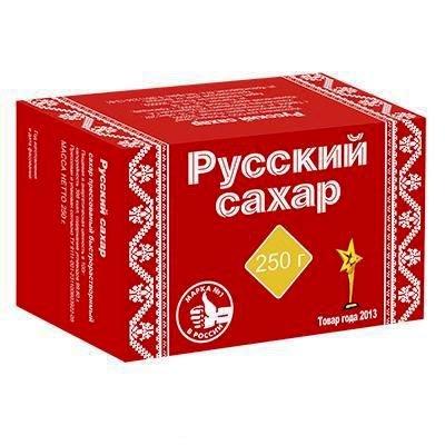"""Сахар рафинад """"Русский сахар"""" 250 гр."""